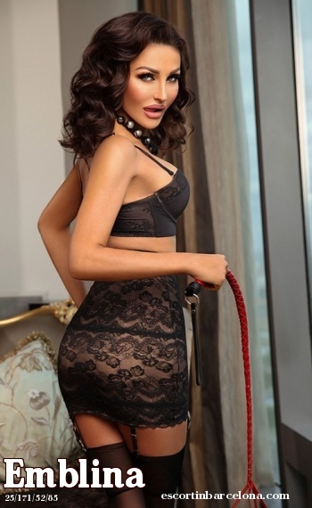 Emblina, Russian escort who offers kamasutra in Barcelona