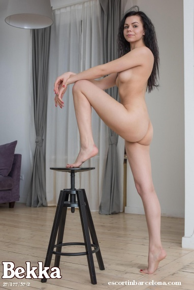Bekka, Russian escort who offers oral job in Barcelona