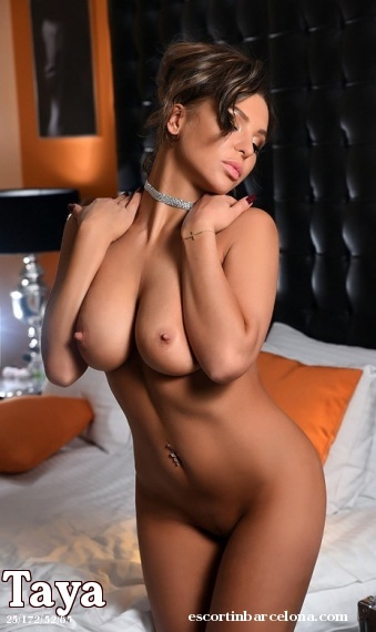Taya, Russian escort who offers oral job in Barcelona
