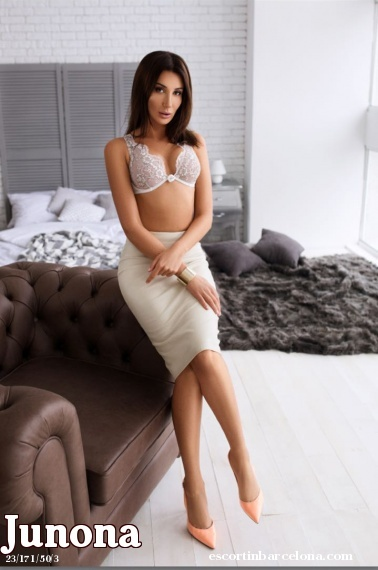 Junona, Russian escort who offers company in Barcelona