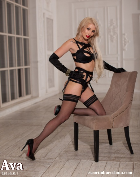 Ava, Russian escort who offers dates in Barcelona