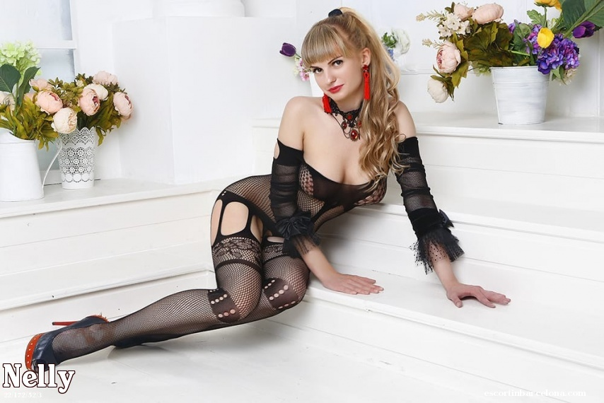 Nelly, Russian escort who offers dates in Barcelona