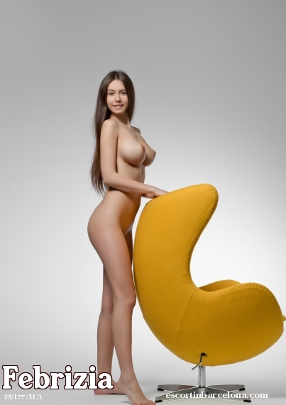 Febrizia, Russian escort who offers french kissing in Barcelona