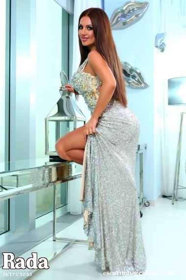 Rada, Russian escort who offers girlfriend experience in Barcelona