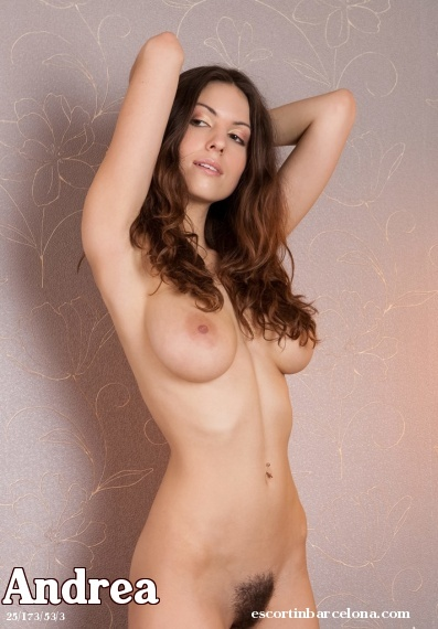 Andrea, Russian escort who offers dates in Barcelona