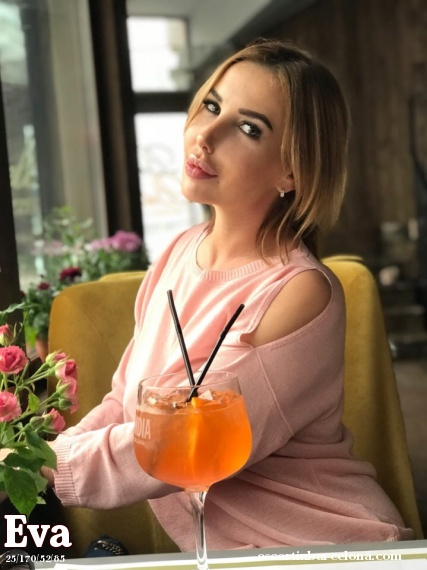 EvaForYou, Russian escort who offers company in Barcelona