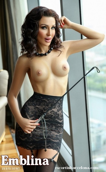 Emblina, Russian escort who offers girlfriend experience in Barcelona