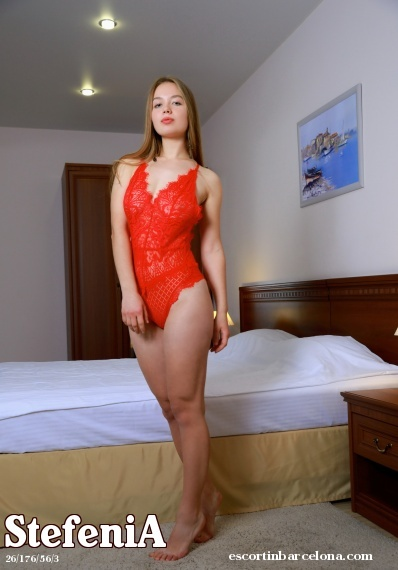 StefeniA, Russian escort who offers girlfriend experience in Barcelona