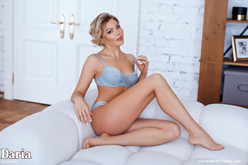 Daria, Russian escort who offers company in Barcelona
