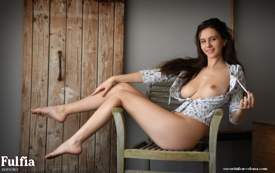 Fulfia, Russian escort who offers french kissing in Barcelona