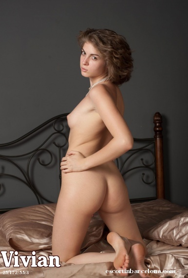 Vivian, Russian escort who offers company in Barcelona