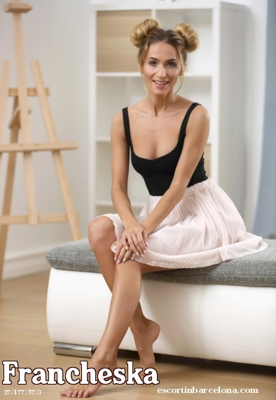 Francheska, Russian escort who offers girlfriend experience in Barcelona