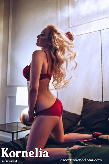 Kornelia, Russian escort who offers company in Barcelona