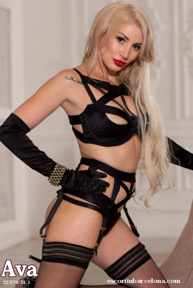 Ava, Russian escort who offers girlfriend experience in Barcelona