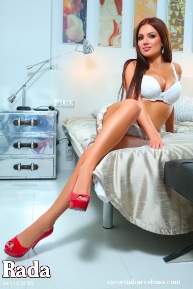 Rada, Russian escort who offers oral job in Barcelona