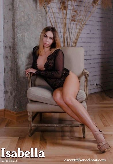 Isabella, Russian escort who offers oral job in Barcelona