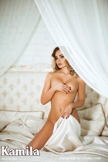 Kamila, Russian escort who offers girlfriend experience in Barcelona