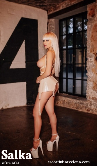 Salka, Russian escort who offers company in Barcelona