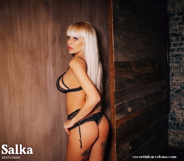 Salka, Russian escort who offers girlfriend experience in Barcelona