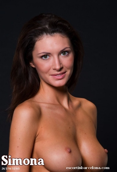 Simona, Russian escort who offers girlfriend experience in Barcelona