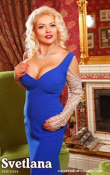 Svetlana, Russian escort who offers 69 in Barcelona