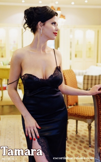 Tamara, Russian escort who offers massages in Barcelona