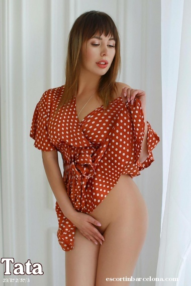 Tata, Russian escort who offers oral job in Barcelona