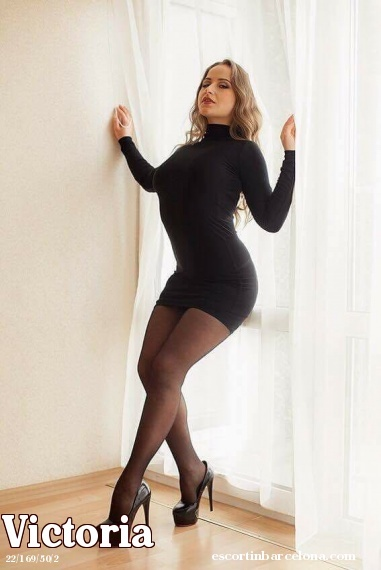 Victoria, Russian escort who offers company in Barcelona