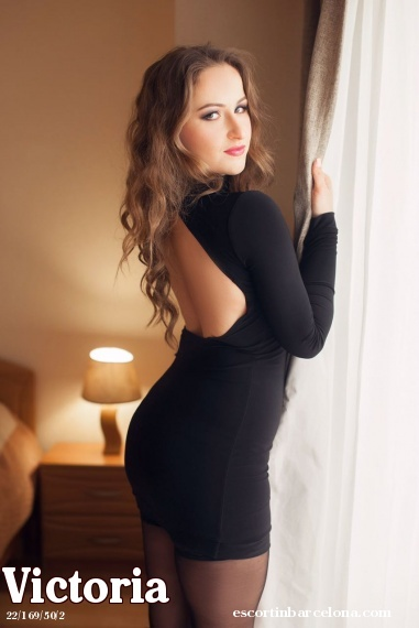 Victoria, Russian escort who offers dates in Barcelona