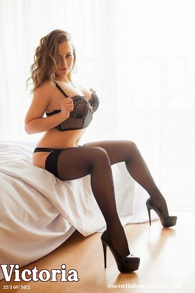 Victoria, Russian escort who offers girlfriend experience in Barcelona