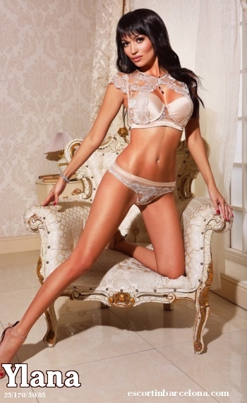 Ylana, Russian escort who offers kamasutra in Barcelona