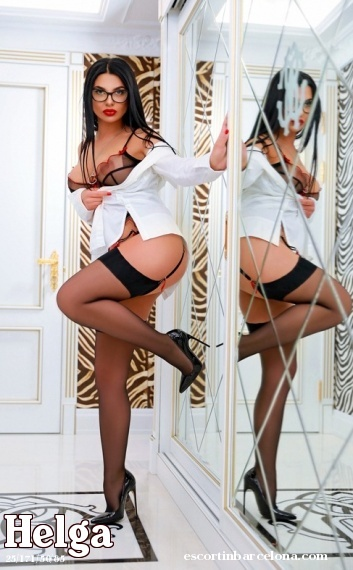 Helga, Russian escort who offers oral job in Barcelona