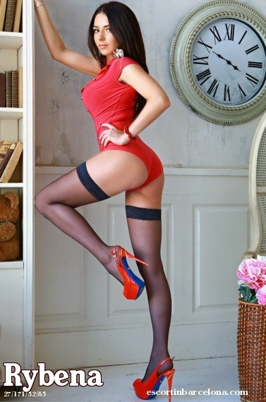 Rybena, Russian escort who offers oral job in Barcelona