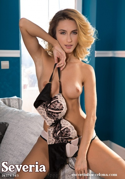 Severia, Russian escort who offers company in Barcelona
