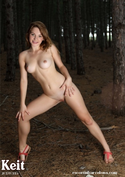 Keit, Russian escort who offers french kissing in Barcelona