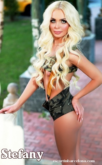 Stefany, Russian escort who offers dates in Barcelona