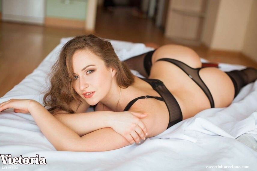 Victoria, Russian escort who offers kamasutra in Barcelona
